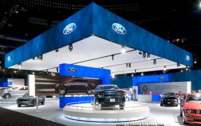 ford custom booth