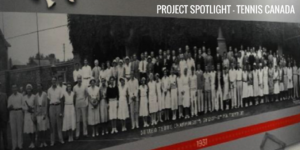 Project Spotlight Tennis Canada Graphics